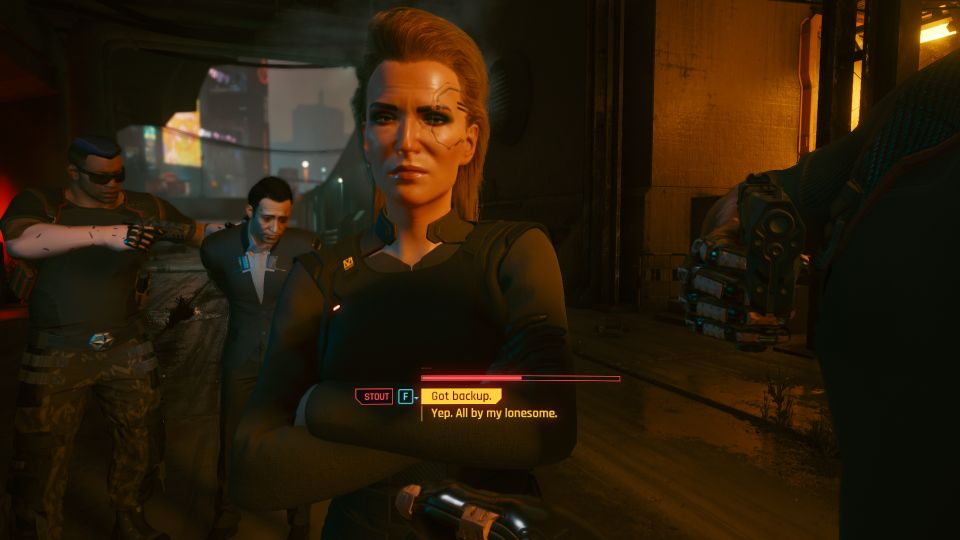 cyberpunk 2077 - the pickup tips