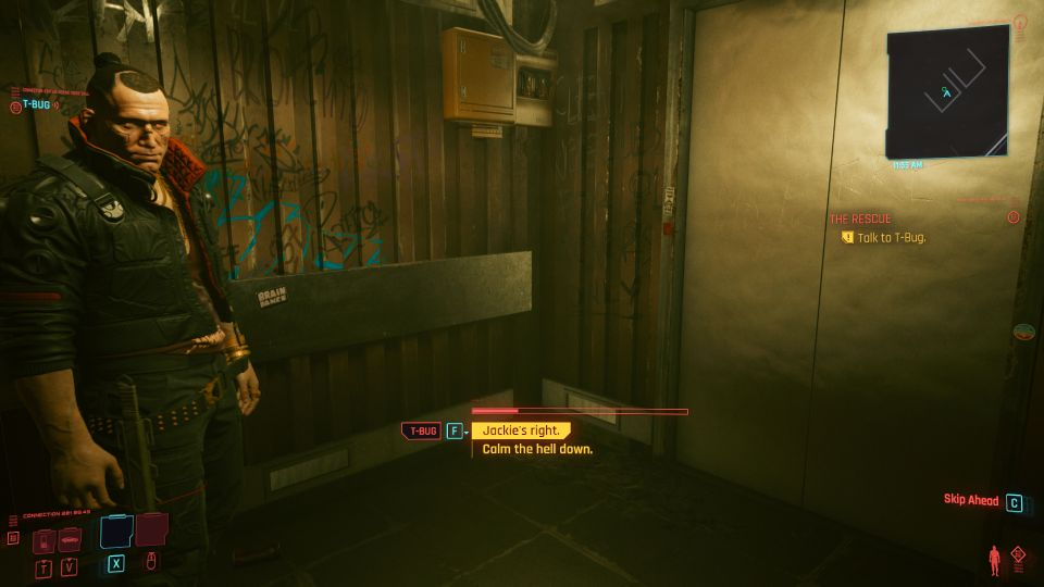 cyberpunk 2077 - the rescue mission