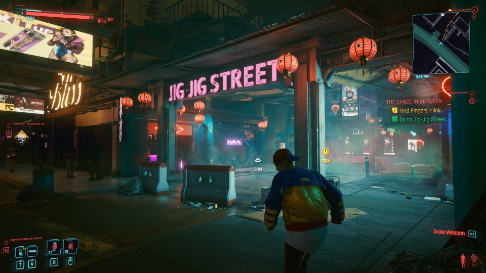 cyberpunk 2077 - the space in between walkthrough