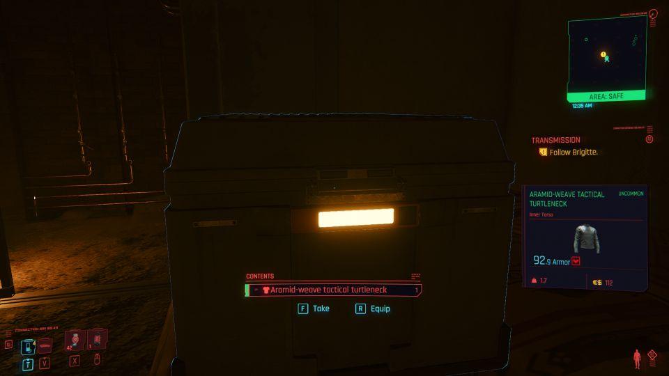 cyberpunk 2077 - transmission mission