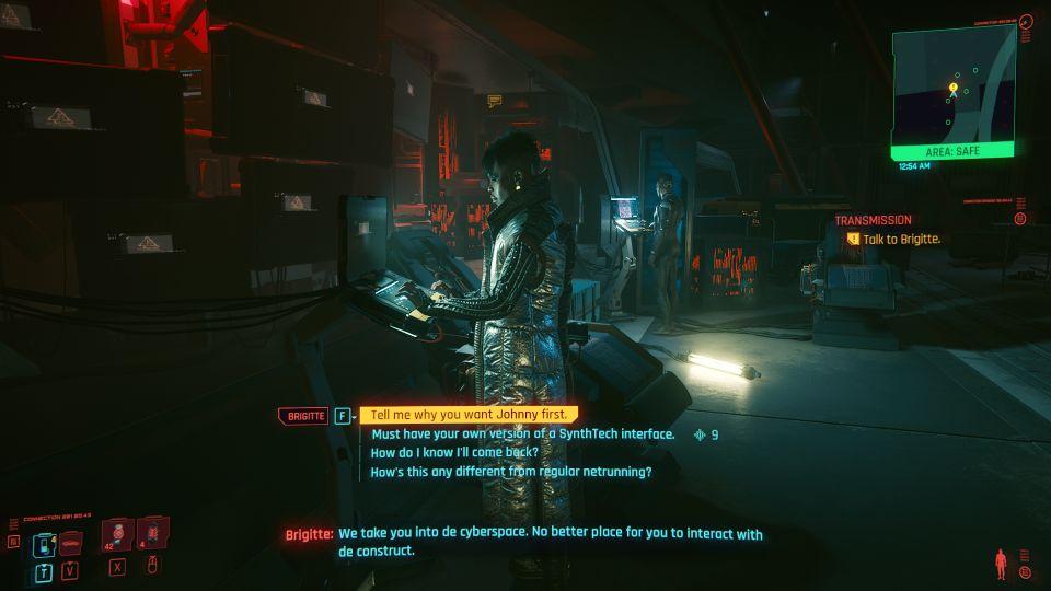 cyberpunk 2077 - transmission walkthrough