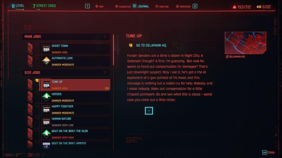 cyberpunk 2077 - tune up guide