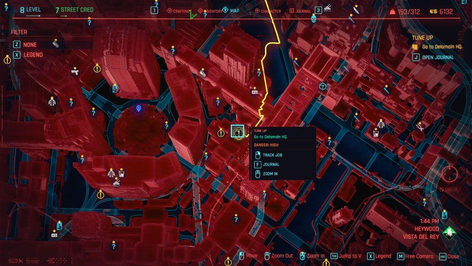 cyberpunk 2077 - tune up