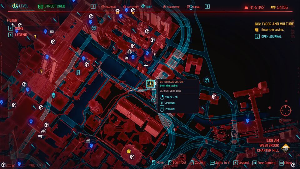 cyberpunk 2077 - tyger and vulture guide