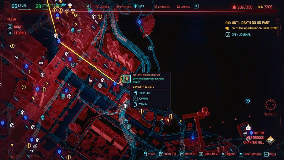 cyberpunk 2077 - until death do us part guide