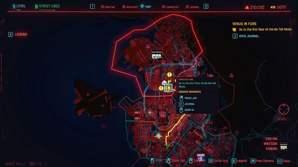 cyberpunk 2077 - venus in furs guide