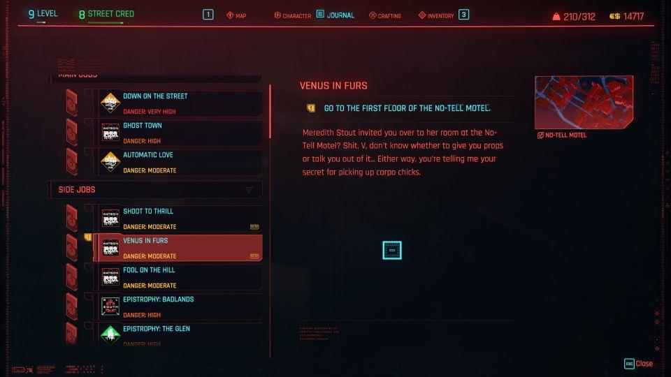 cyberpunk 2077 - venus in furs
