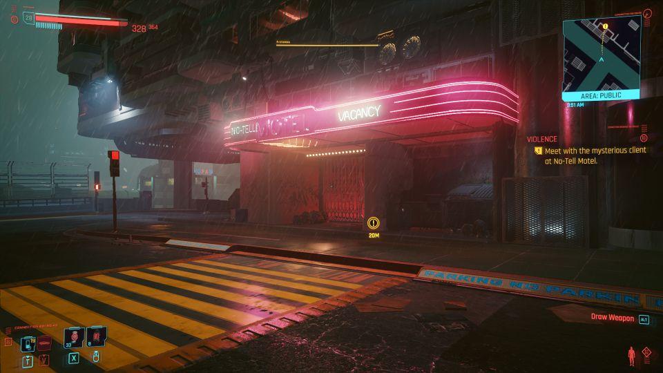 cyberpunk 2077 - violence mission