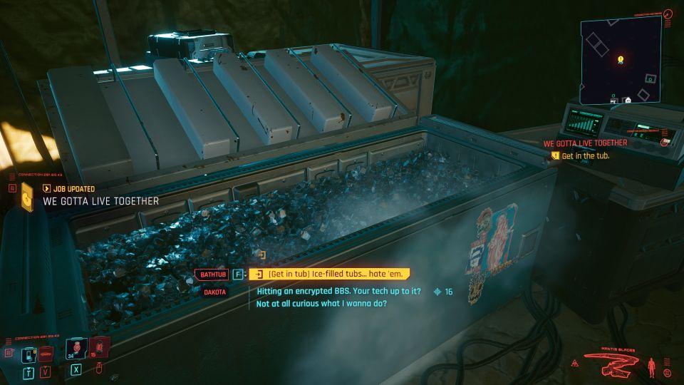 cyberpunk 2077 - we gotta live together tips