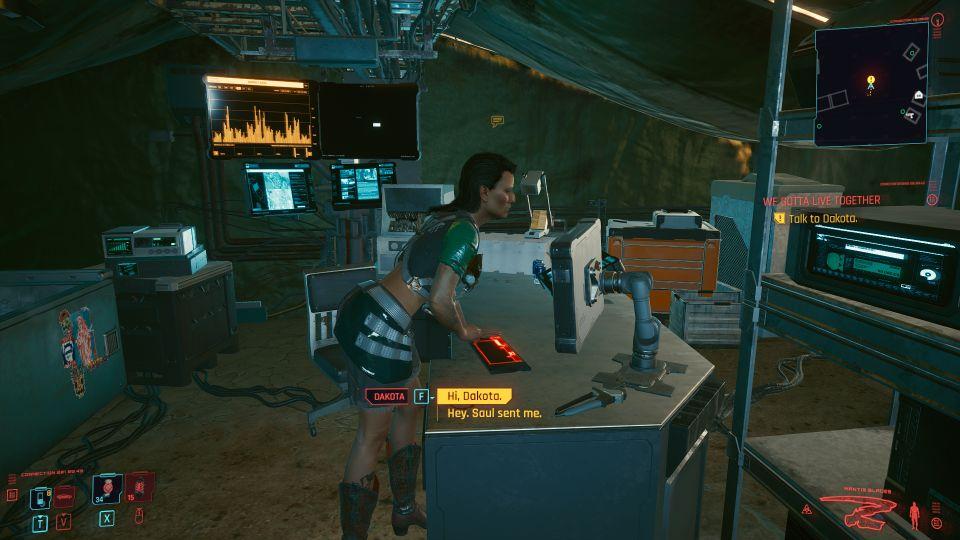 cyberpunk 2077 - we gotta live together wiki
