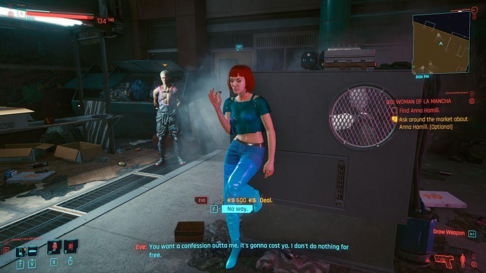 cyberpunk 2077 - woman of la mancha wiki