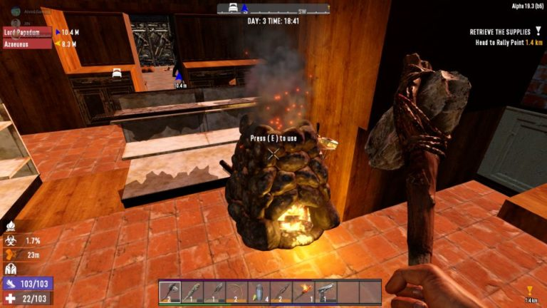 7 days to die - forged iron how to smelt