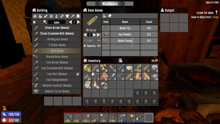 7 days to die - how to make ammo
