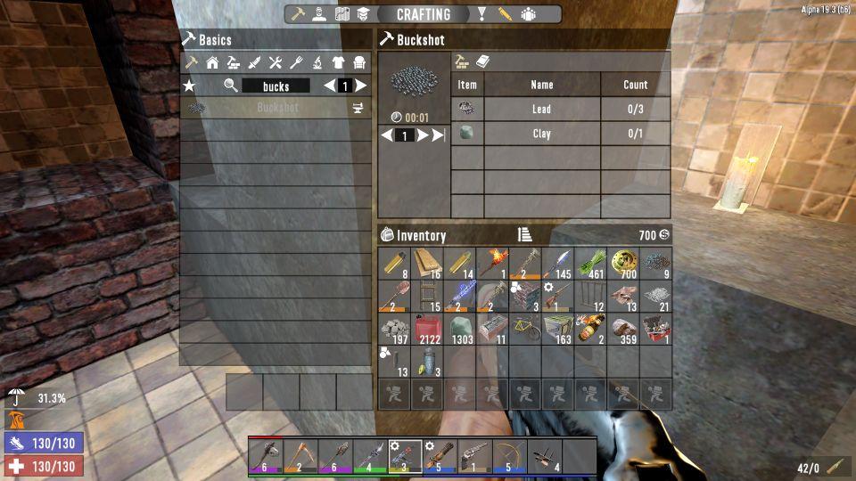 7 days to die - how to make shotgun shells ammo