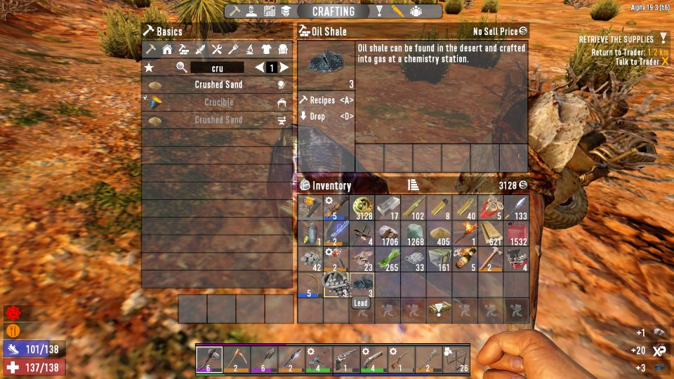 7 days to die - oil shale how to get
