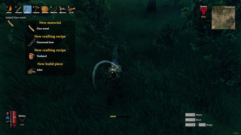 valheim how to get bronze axe