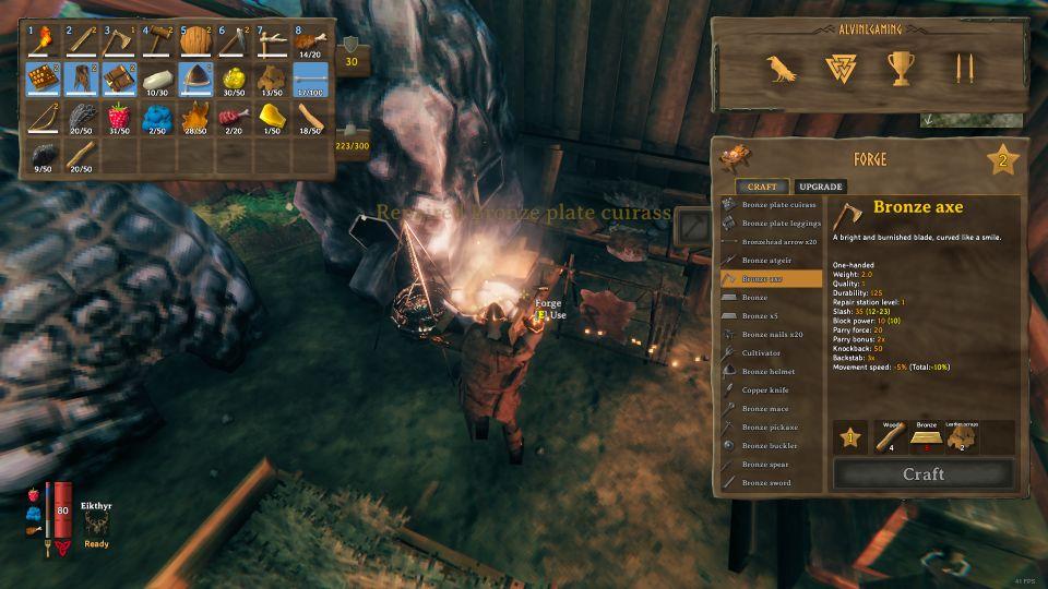 valheim how to get fine wood