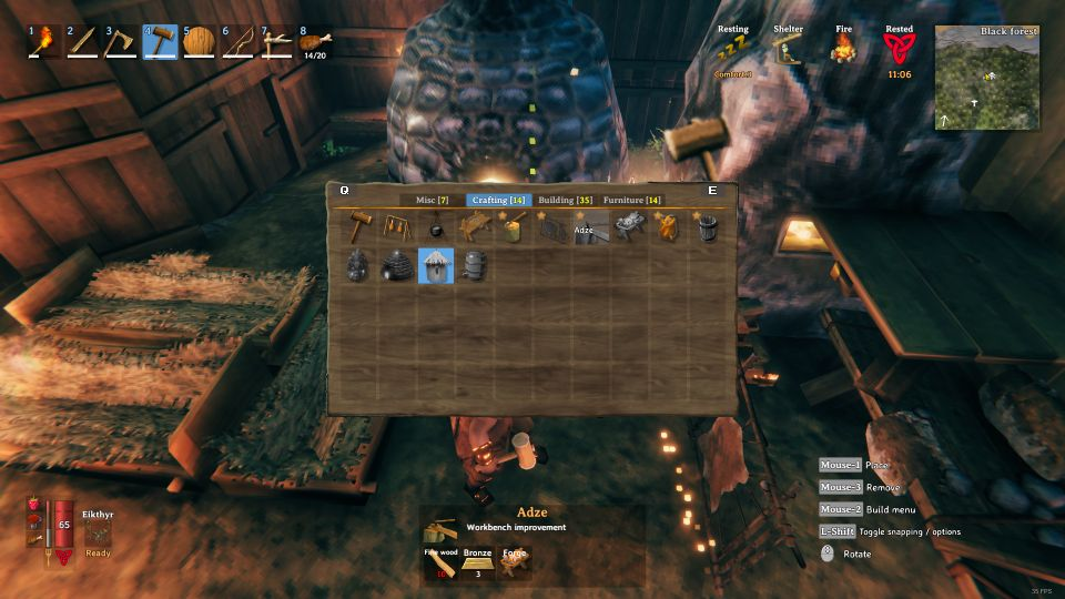 Valheim How To Upgrade The Workbench To Level 4