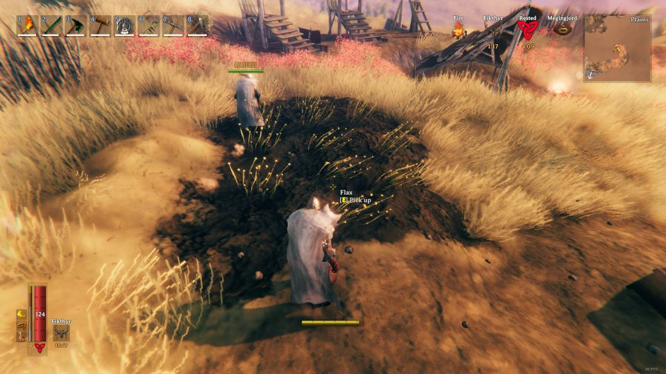 valheim - where to get flax