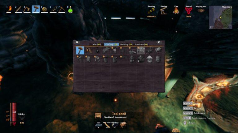 valheim workbench level 5 - how to upgrade