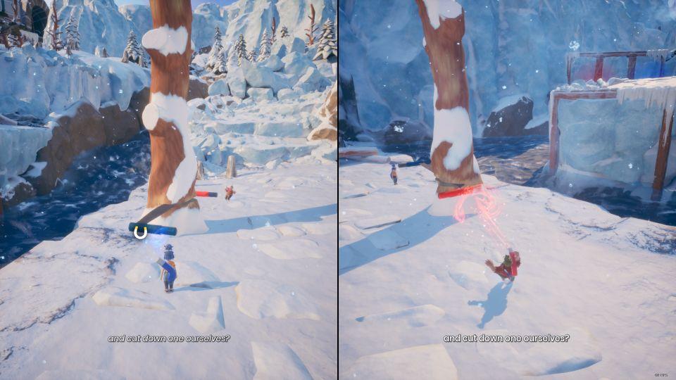 it takes two - the snow globe walkthrough