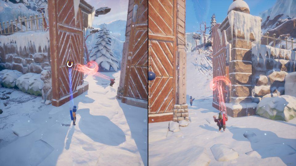it takes two - the snow globe