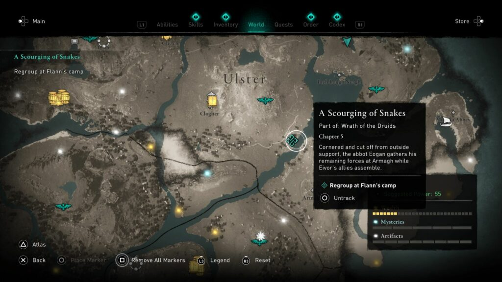ac valhalla - a scourging of snakes guide