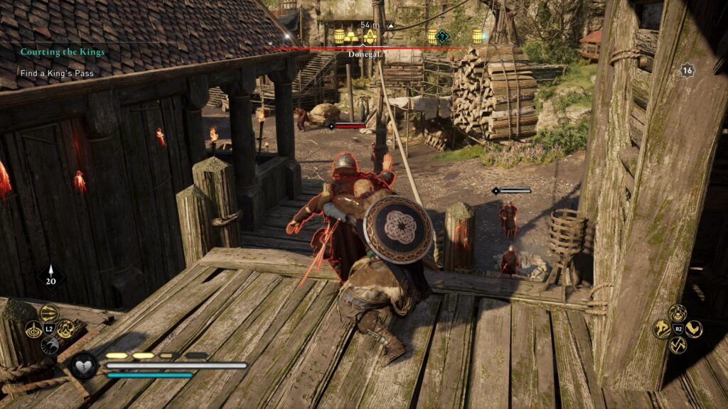 ac valhalla - courting the kings walkthrough