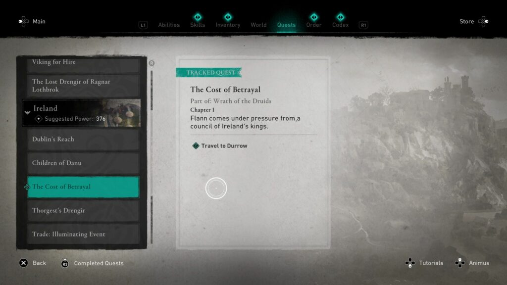 ac valhalla - the cost of betrayal