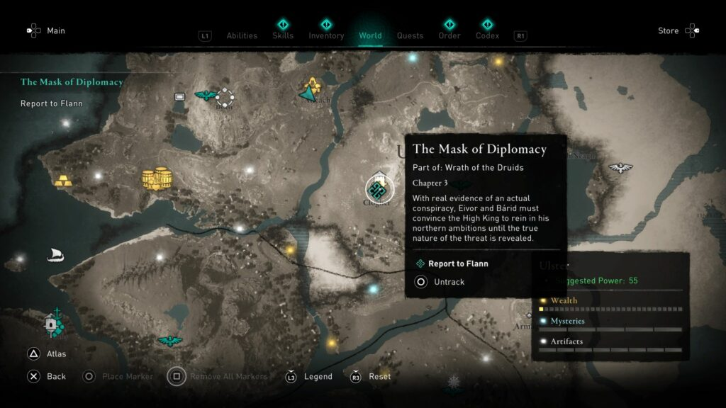 ac valhalla - the mask of diplomacy guide