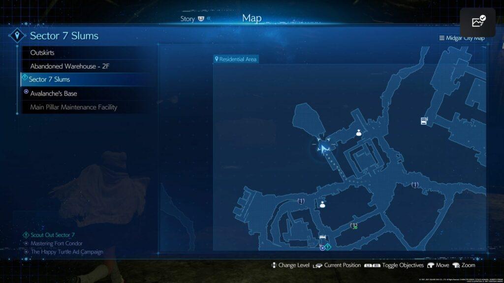 ff7 remake intergrade - happy turtle all six locations