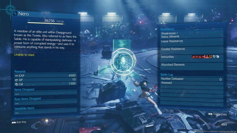 ff7 remake intergrade - nero guide