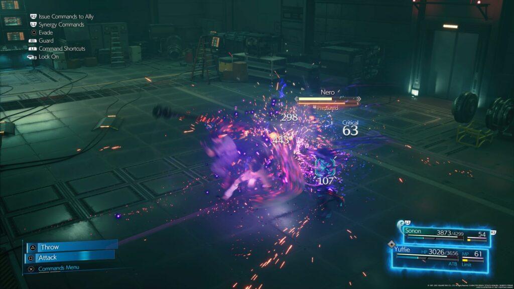 ff7 remake intergrade - nero walkthrough