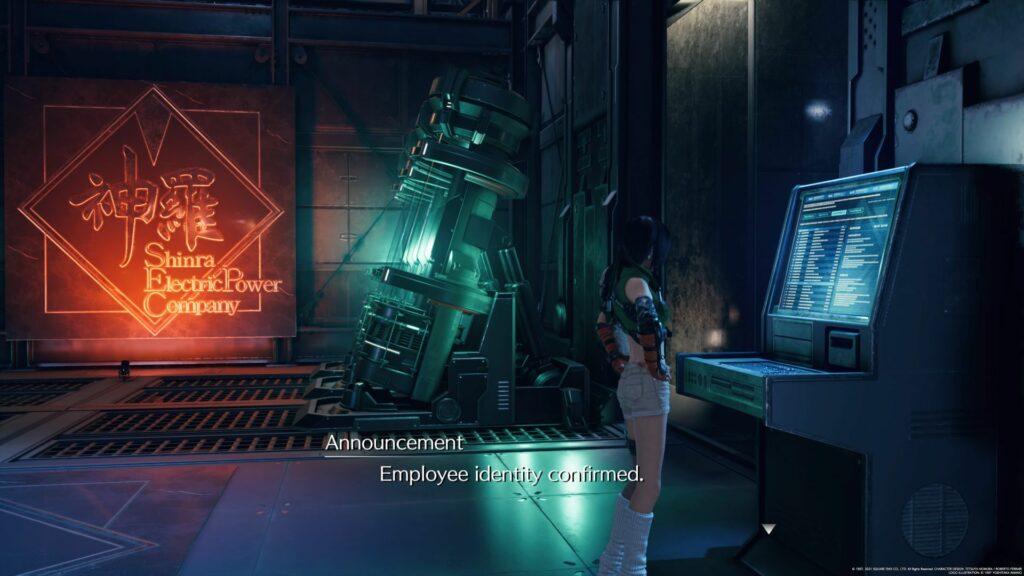 ff7 remake intergrade - secret vault