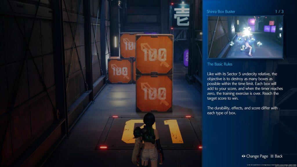 ff7 remake intergrade - secret vault tips