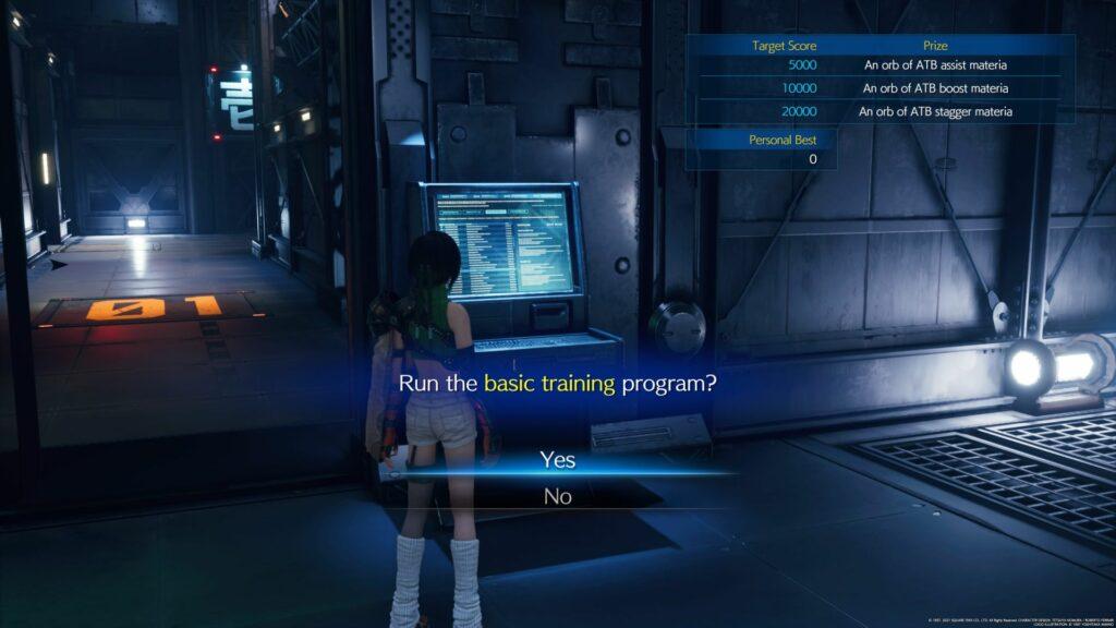 ff7 remake intergrade - secret vault walkthrough