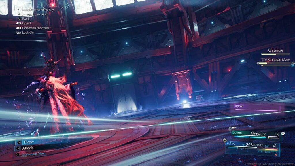 ff7 remake intergrade - the crimson mare how to defeat