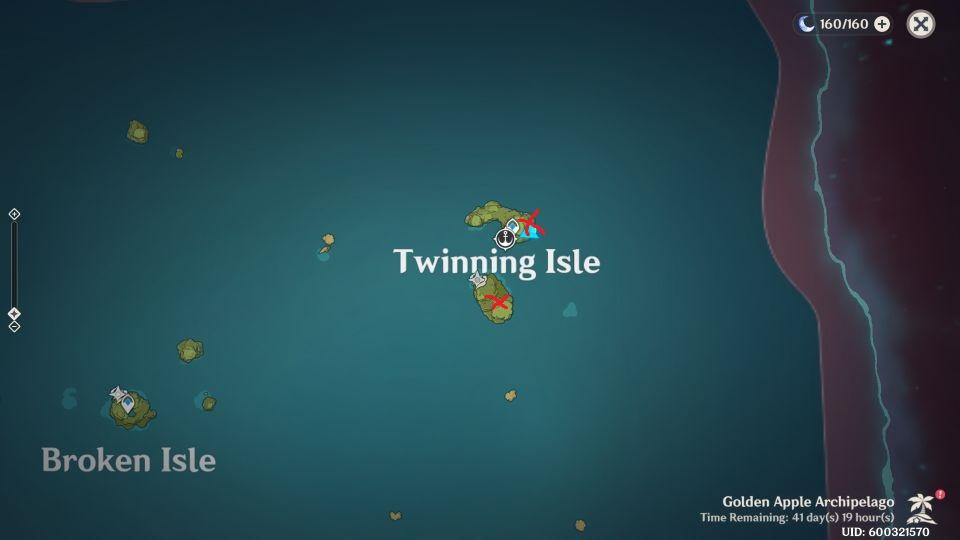 genshin - echoing conch location guide