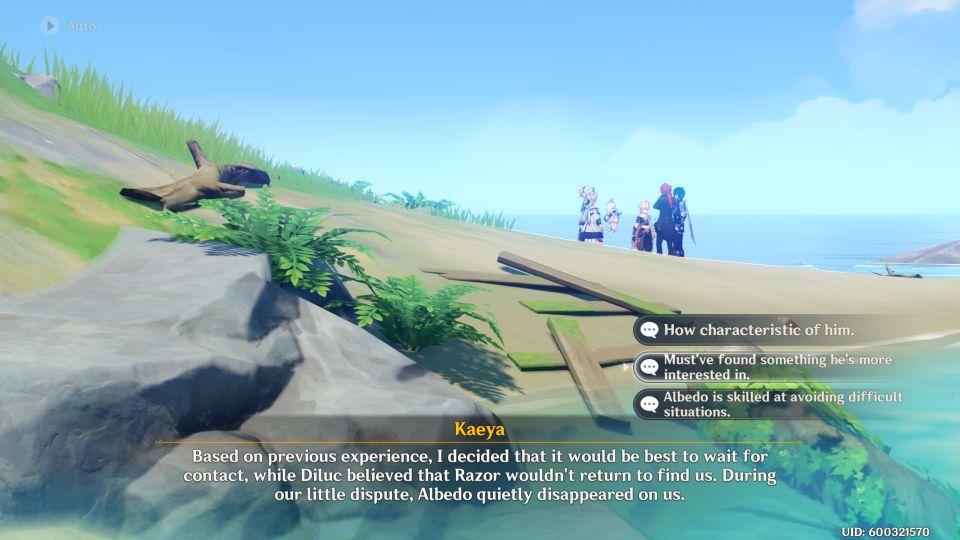 genshin impact - dodo-king of the sea lying in wait walkthrough