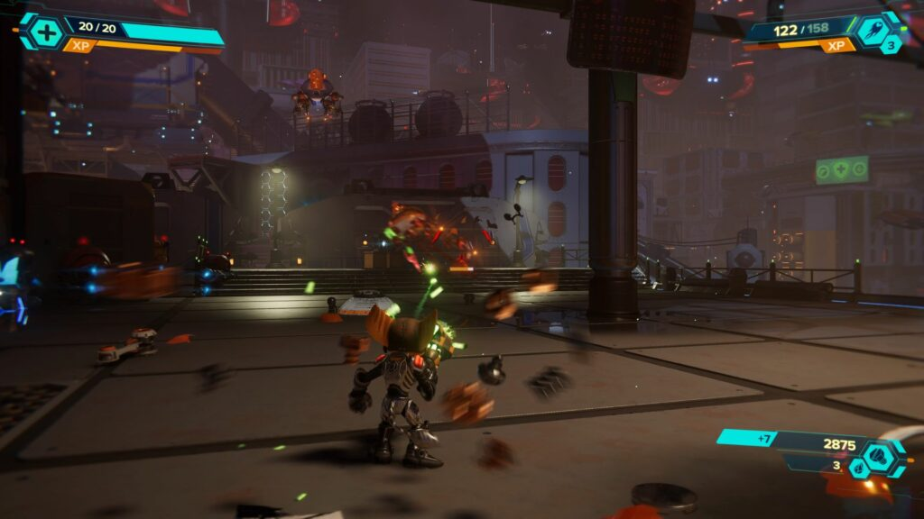 ratchet and clank rift apart - locate the resistance spybot location