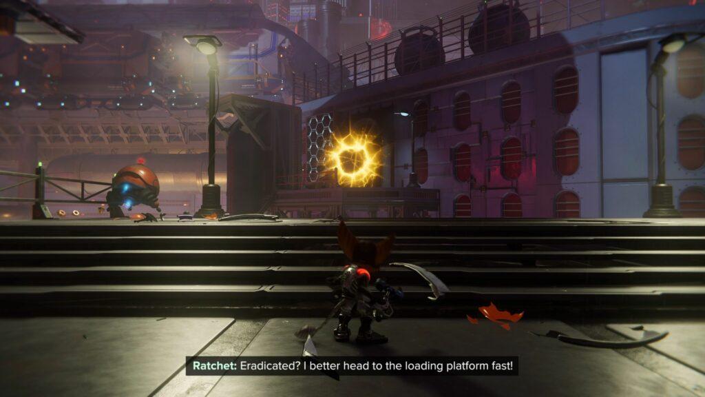 ratchet and clank rift apart - locate the resistance spybot walkthrough