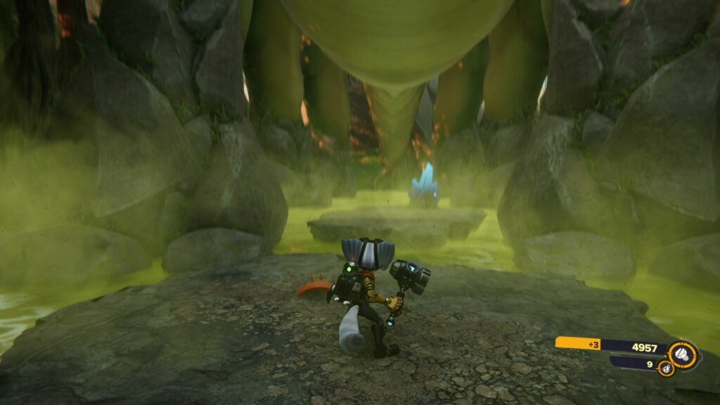 ratchet and clank rift apart - sargasso map