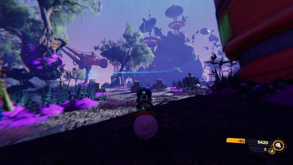 ratchet and clank rift apart - sargasso tips