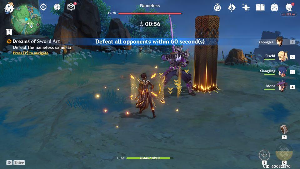 Genshin Impact: Dreams Of Sword Art quest wiki