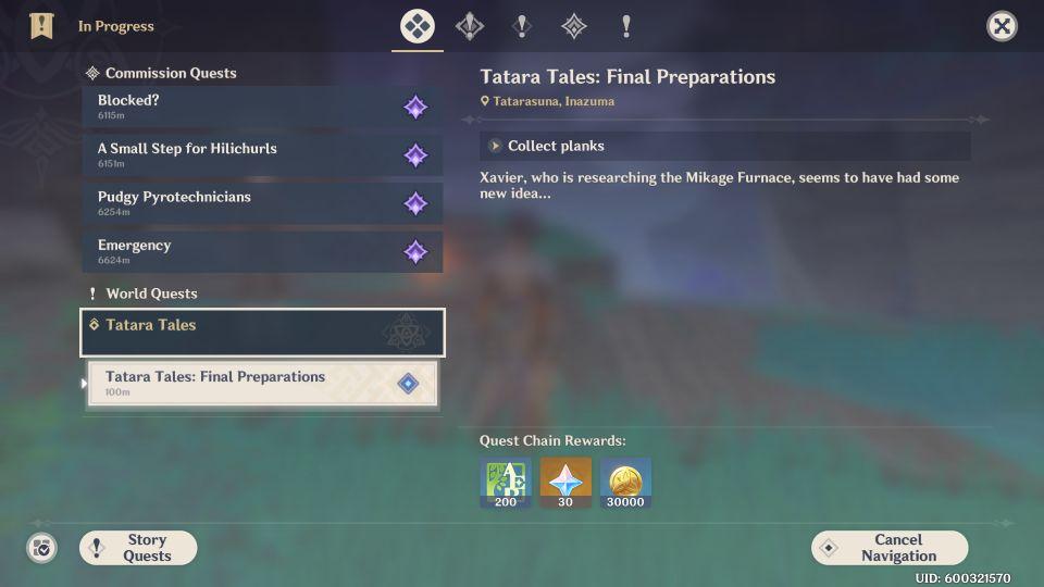 Tatara Tales: Final Preparations