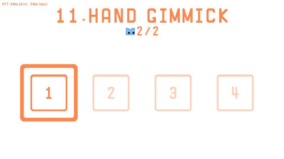 Pico Park Level 11 (Hand Gimmick) Puzzles Guide