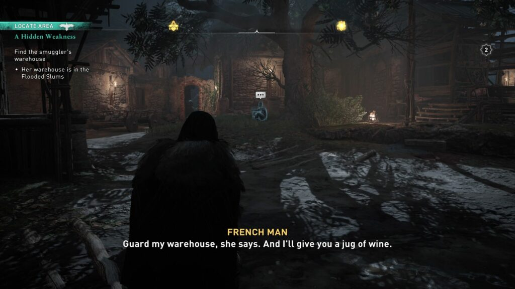 Assassin's Creed Valhalla: A Hidden Weakness guide