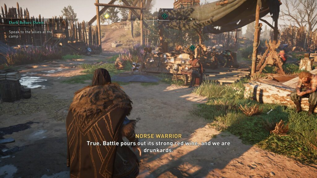 Assassin's Creed Valhalla: Dark Before Dawn quest guide tips