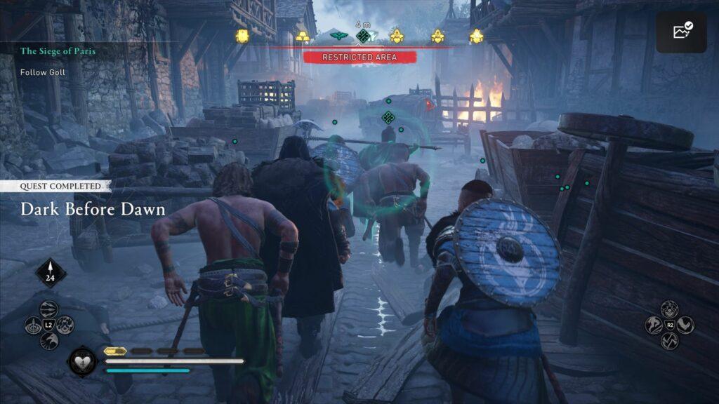 Assassin's Creed Valhalla: The Siege Of Paris Quest