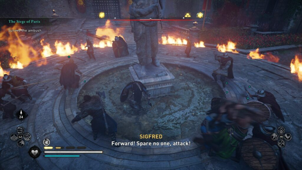 Assassin's Creed Valhalla: The Siege Of Paris Quest guide